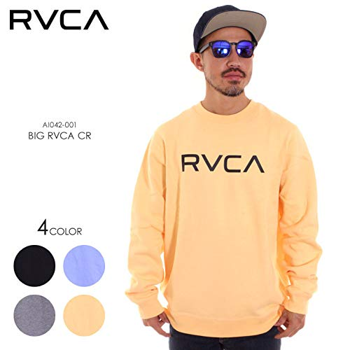 (ルーカ) RVCA トレーナー メンズ BIG RVCA CR AI042-001