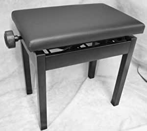 ITOMASA(イトマサ) 角形高低 ピアノ椅子 黒色 AP-BK