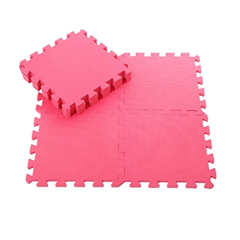 Bluelans 9ピースKids Foam Floor Play Mat Gameパズル環境保護マットヨガ 30cm x 30cm x 1cm/11.81