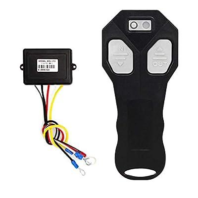 Niome Wireless Winch Remote Control Kit Switch Handset DC12V for Car ATV SUV UTV Truck Auto