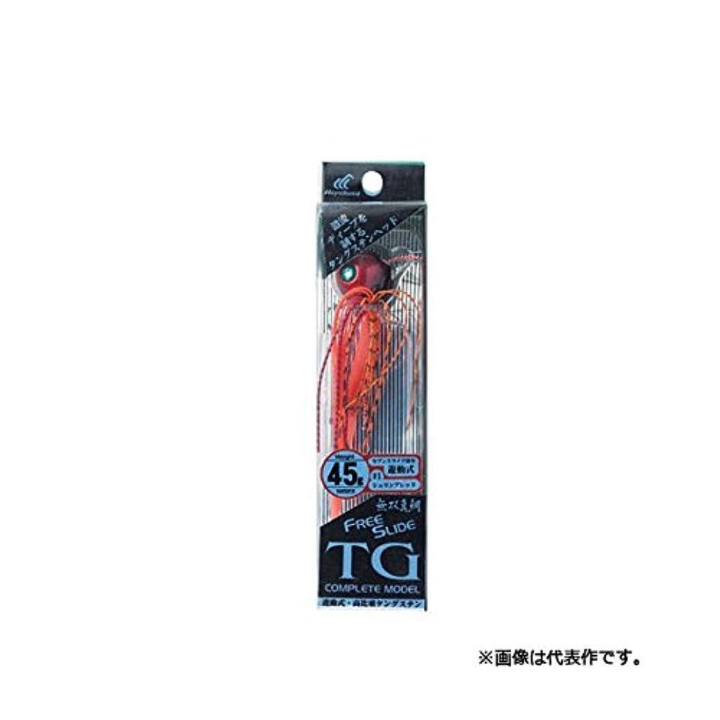 掻くバックアップメンバーハヤブサ(Hayabusa) タイラバ 無双真鯛フリースライド TGヘッド コンプリートモデル 45g シュリンプオレンジ SE123