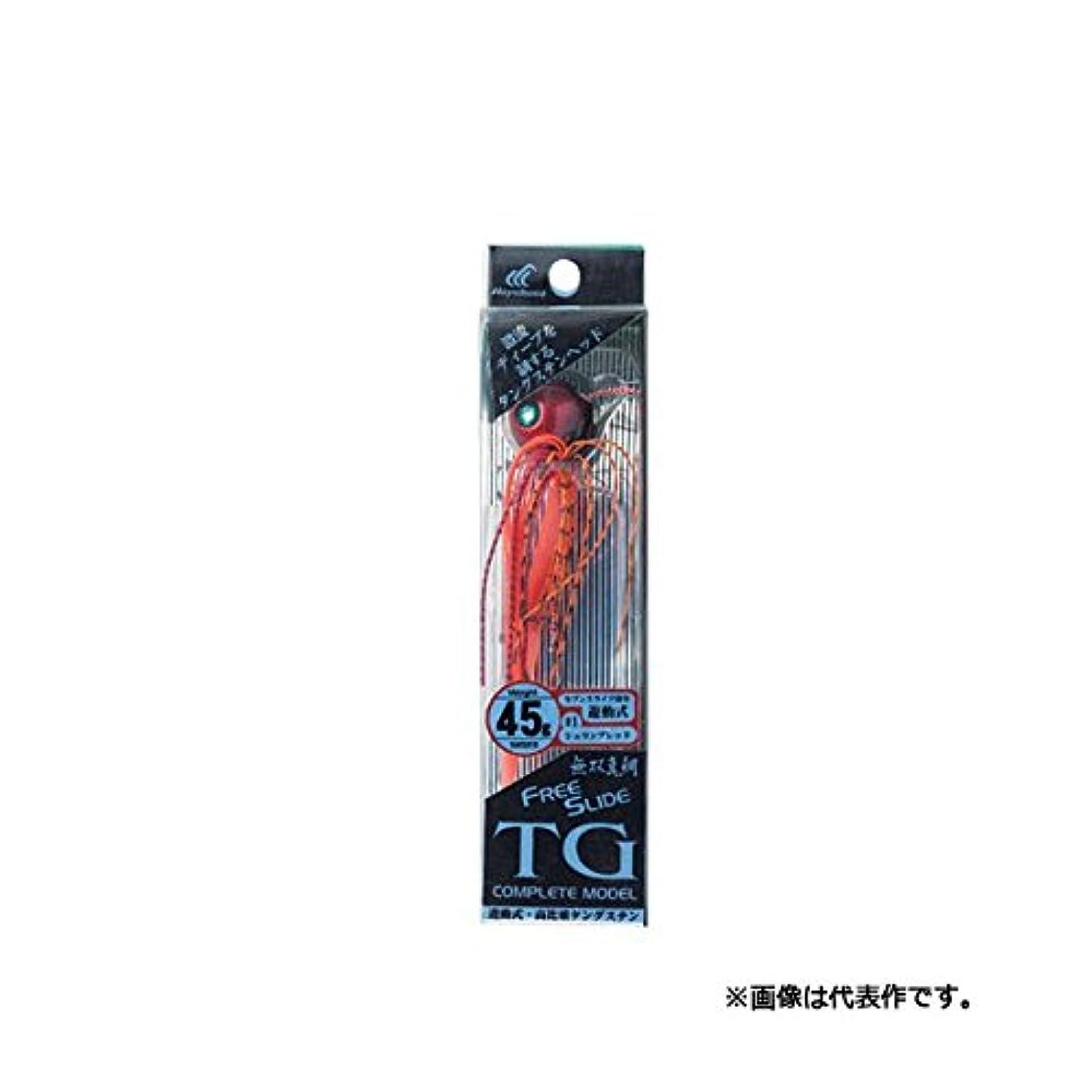 プロポーショナルコンパス球状ハヤブサ(Hayabusa) タイラバ 無双真鯛フリースライド TGヘッド コンプリートモデル 45g オレンジゴールド SE123-45-2