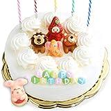 誕生日ケーキ バースデーケーキ 生クリーム デコレーションケーキ 6号 [凍] いちご 誕生日 ケーキ チョコレート飾り