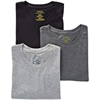 POLO RALPH LAUREN Men's Classic Fit w/Wicking 3-Pack Crews