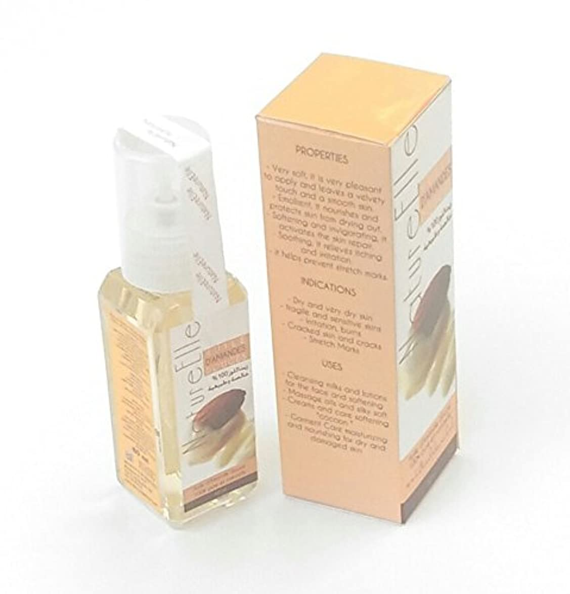 NatureElle The Pure Sweet Almond Oil 100% Pure and Natural - Delivery Express in three working days - Shipping...