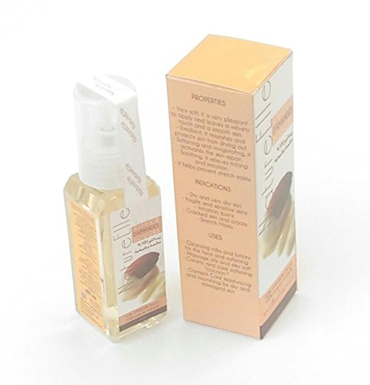 好み混合した必要条件NatureElle The Pure Sweet Almond Oil 100% Pure and Natural - Delivery Express in three working days - Shipping traced - 60 ml [並行輸入品]