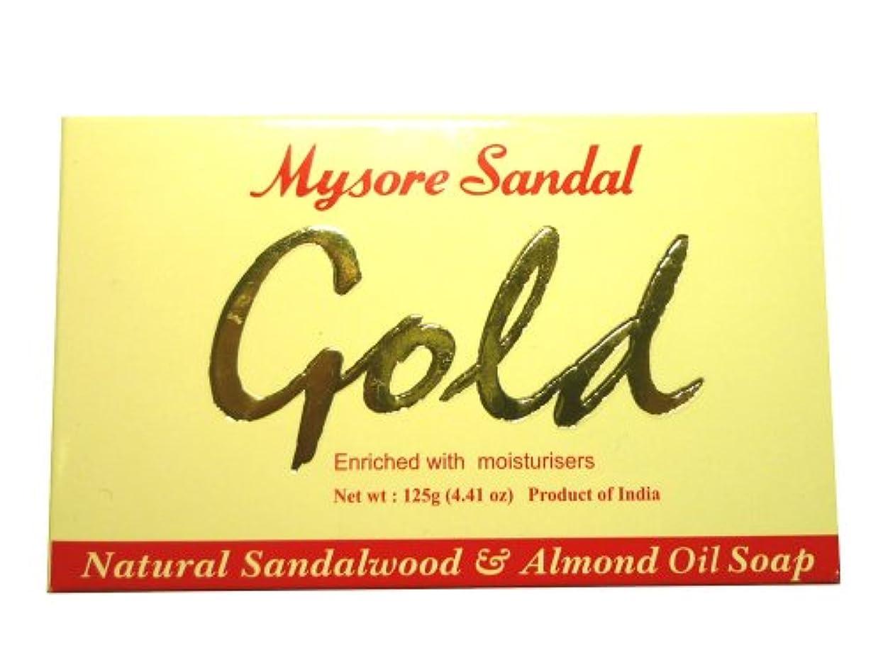 ますます形状プライバシー高純度白檀油配合 マイソール サンダルゴールドソープ