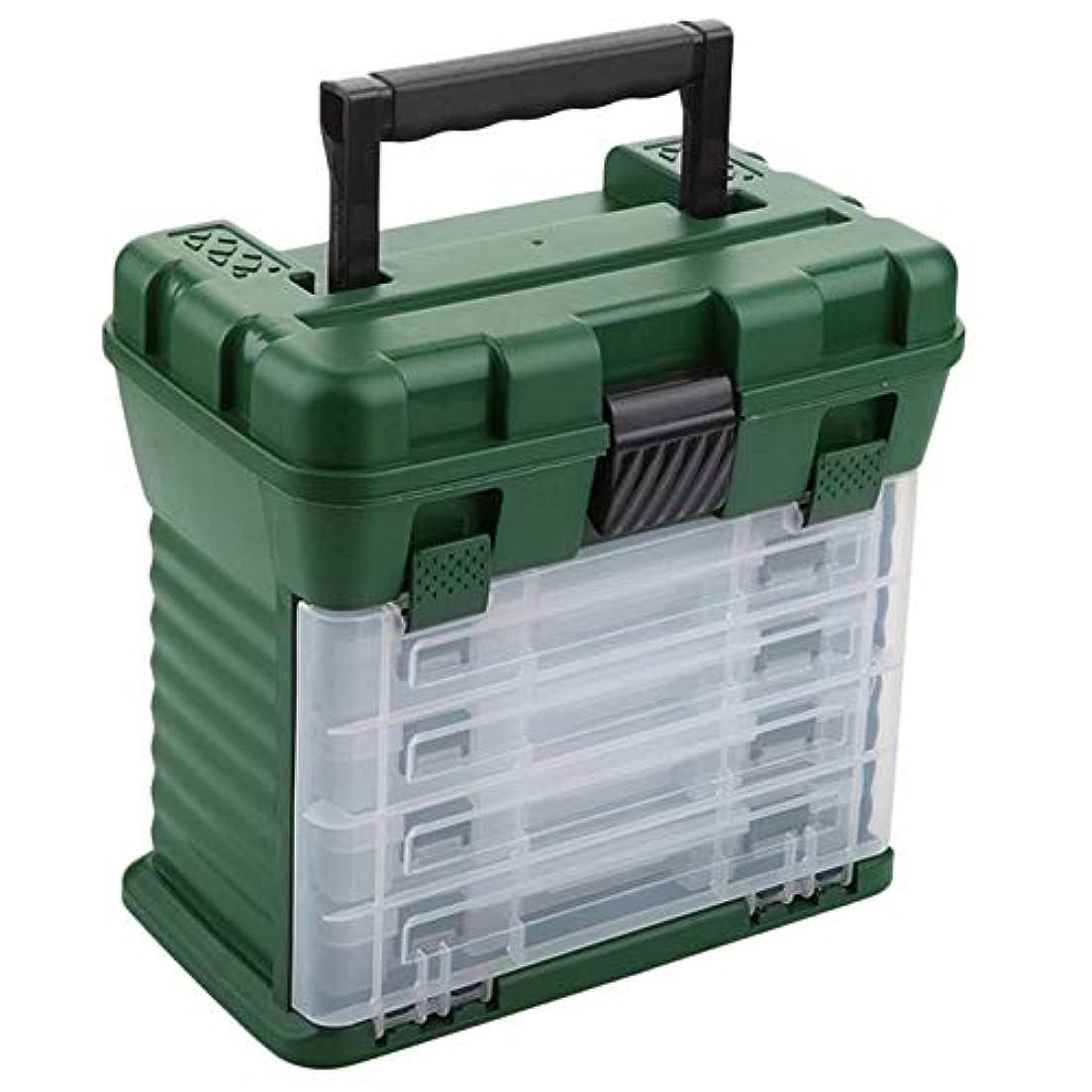 引き付ける消費バスBYWWANG ABS釣り道具プラスチック釣り道具箱防水収納餌箱釣りアクセサリー