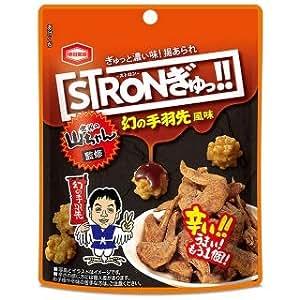 亀田製菓 STRON(ストロン) ぎゅっ!! 幻の手羽先風味 1箱(10袋)