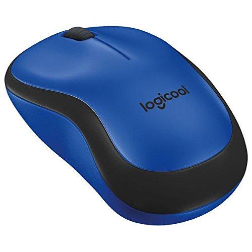 ロジクール 2.4GHzワイヤレス オプティカル静音マウス プラス ブルーm221 QUIET PLUS Wireless Mouse M221BL