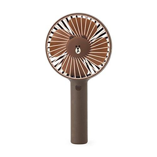 LINE FRIENDS ポータブル扇風機Pro ブラウン