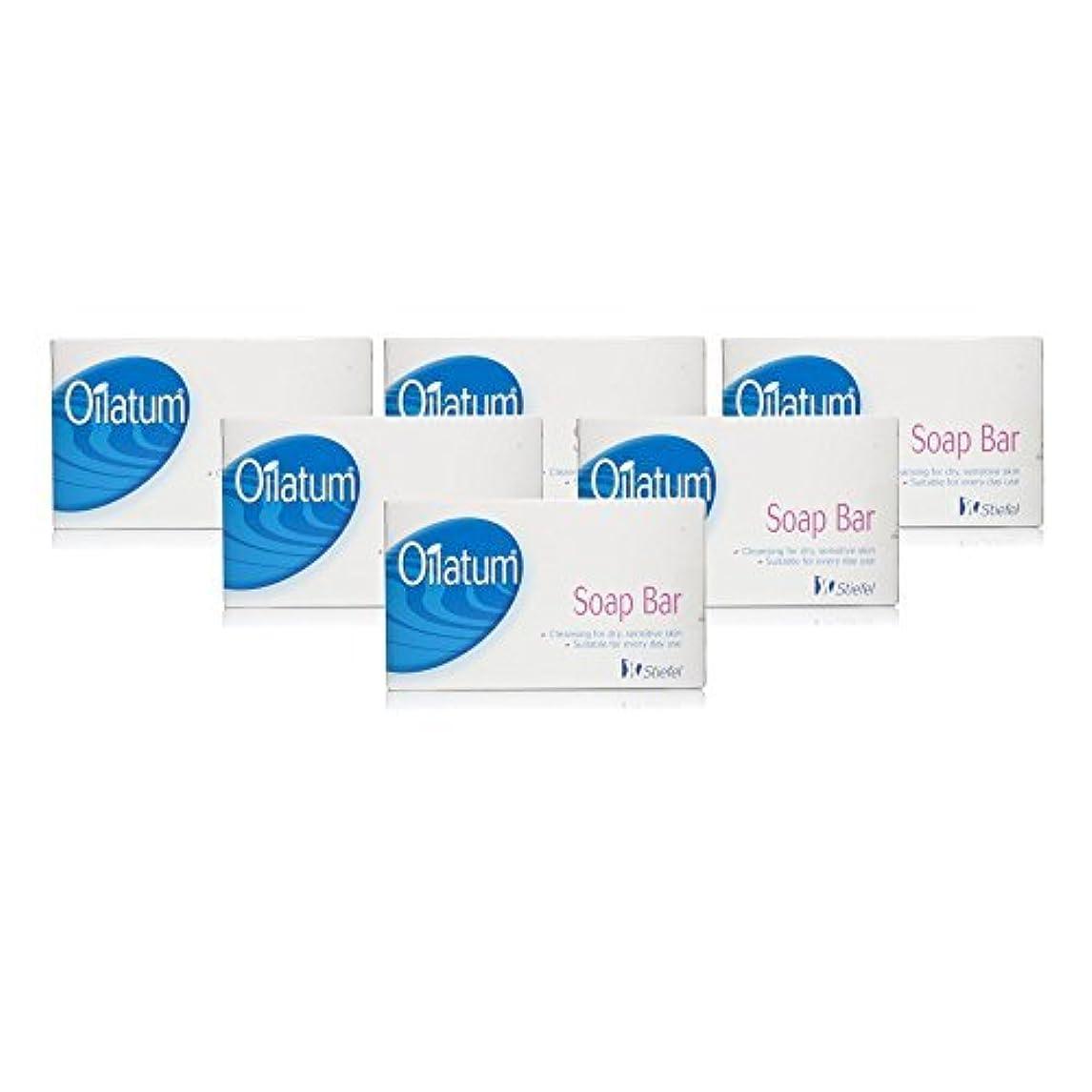 たっぷり精算膨らみOilatum Soap Bar 6 Pack by Oilatum
