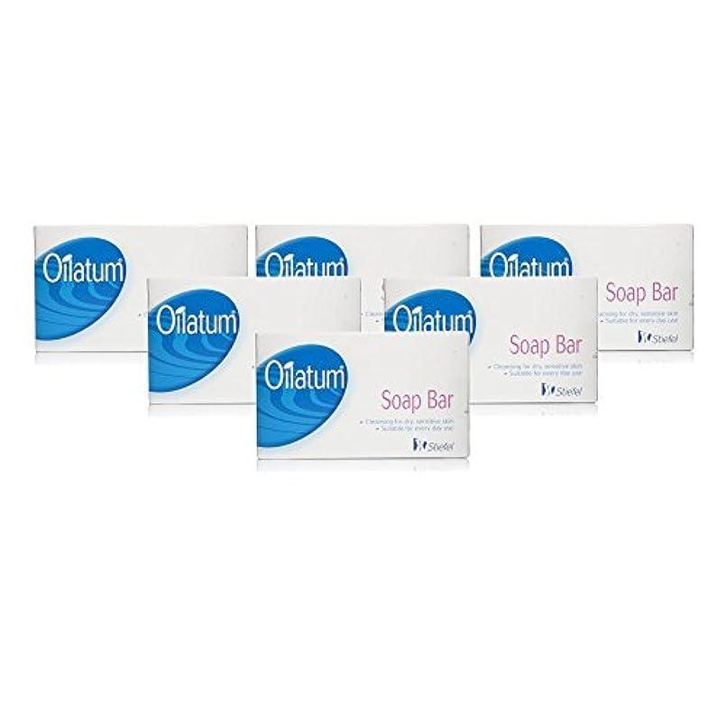 逃す出会いスノーケルOilatum Soap Bar 6 Pack by Oilatum