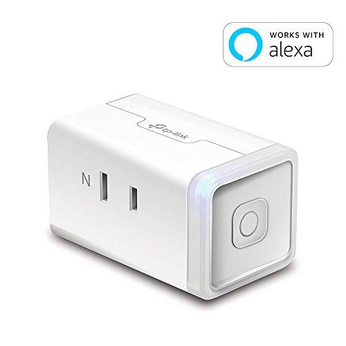 『【Amazon Alexa認定取得製品】 TP-Link WiFi スマートプラグ 遠隔操作 直差しコンセント Echo シリーズ/Google ホーム/LINE Clova 対応 音声コントロール サーキュレーター ハブ不要 3年保証 HS105』のトップ画像