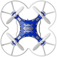 FQ FQ777-124 Pocket Drone 4CH 6Axis Gyro Quadcopter with Switchable Controller RTF Blue [並行輸入品]