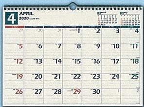 日本能率協会 2020 NOLTYカレンダー 壁掛け14