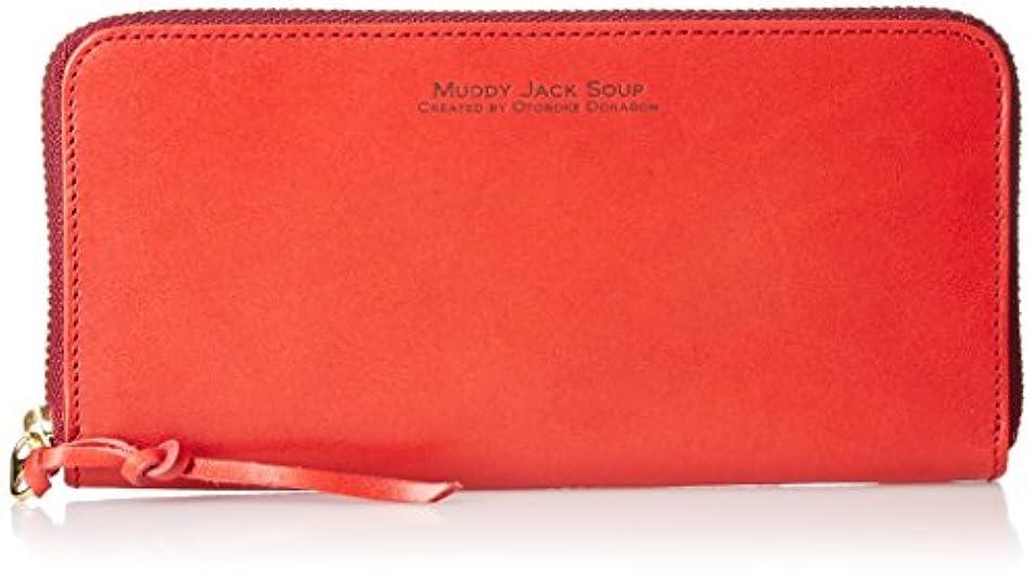 遵守する順応性グループ[マディジャックスープ] 長財布 シンプルで美しい色合いのヌメ革。手触りの良さが自慢の財布です。 76023