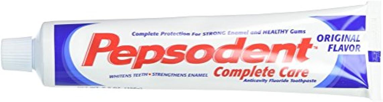 バルーン経験灌漑Pepsodent Complete Care Anticavity Fluoride Toothpaste, Original, 6 Count by Pepsodent