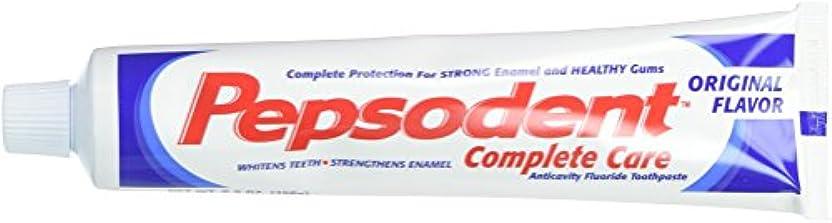 慢部士気Pepsodent Complete Care Anticavity Fluoride Toothpaste, Original, 6 Count by Pepsodent