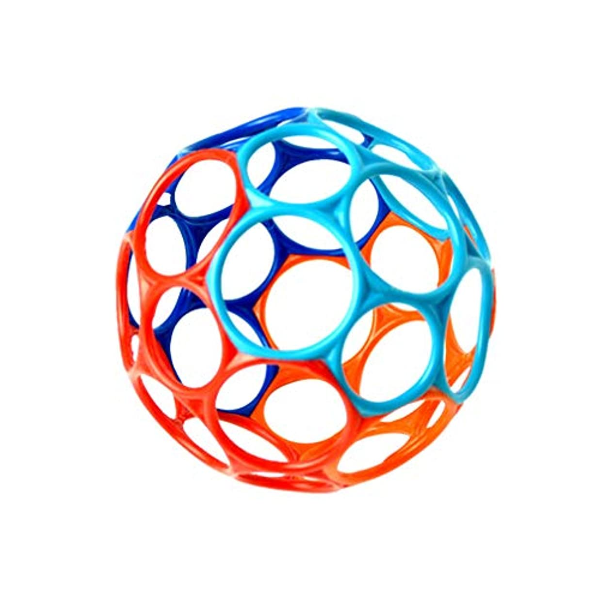 四買う数学者BESPORTBLE 幼児ホールボール赤ちゃん面白いボールゲーム手つかむ教育おもちゃ手ガラガラおもちゃギフト新生児用(小さい、ベルなし)