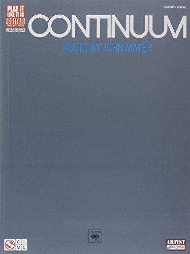 Continuum: Guitar/ Vocal (Play...