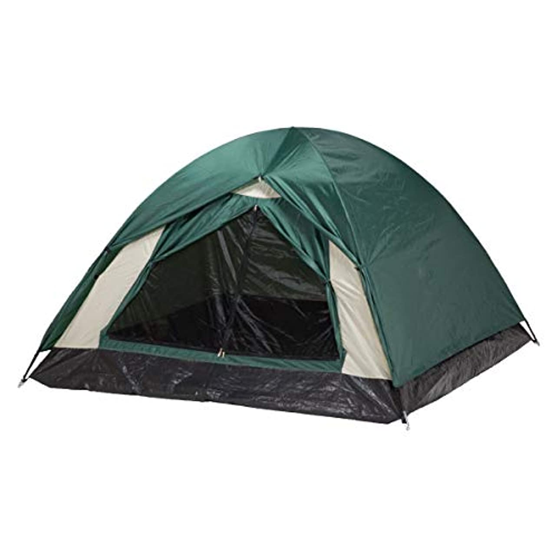 リビジョン品種アクセルBUNDOK(バンドック) ドーム テント 3 BDK-03 収納ケース付 【2~3人用】
