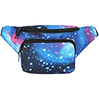 HDE Fanny Pack [80's Style] Waist Pack Outdoor Travel Crossbody Hip Bag