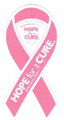 【リボンステッカー】ミニサイズ SC-PINK-R 乳がんに対する理解と支援