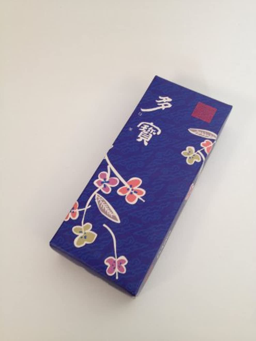 りんご人工的なスラダムChui Woon Hyang Dang Temple Dabo (宝物) 東洋のお香 120本 ブルー
