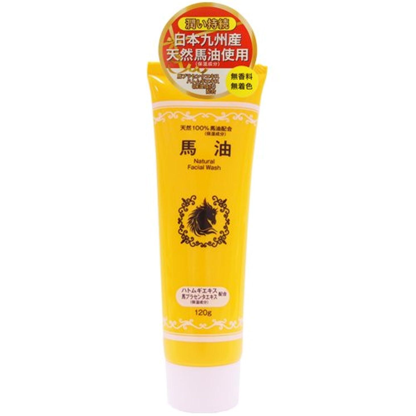 涙織る支援する馬油配合洗顔フォーム 120g