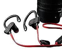 PIKANCHI スポーツ Bluetooth ヘッドセット ワイヤレス イヤホン 高音質 IPX5 防水 汗耐性 快適なイヤーフック フィットネス CVC6.0ノイズキャンセリング 技適認証済み iPhone、Android各種対応 ヘッドホン 4色選択可能