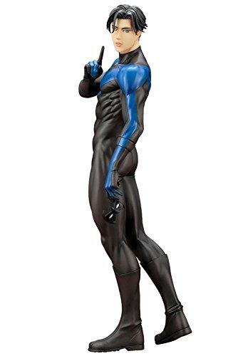 DC COMICS IKEMEN DC UNIVERSE ナイトウィング【初回生産限定パーツ付属版】  1/7スケール PVC製 塗装済み完成品フィギュア