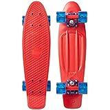 "Penny Skateboard(ペニースケートボード) PENNY CLASSICS COMPLETE 22"" 0PCL4 RED COMET 全長22インチ(約56cm)、幅約15cm"