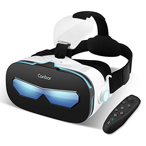 Canbor VRゴーグル VRヘッドセット 4-6.3インチ スマホ 対応...