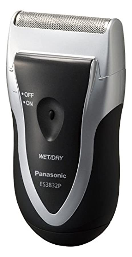 香ばしい群がる追い払うパナソニック スーパーレザー メンズシェーバー 1枚刃 シルバー調 ES3832P-S