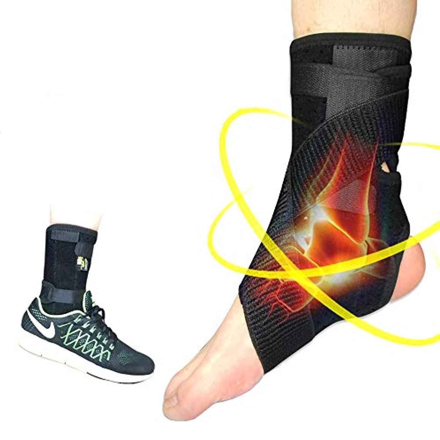 足底筋膜炎をサポートするための足底筋膜炎 - 足底筋膜炎ストレッチのための足装具:足首、アキレス腱、足首包帯,S:EU29-33