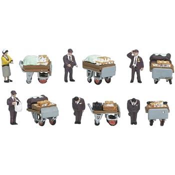 KATO Nゲージ 駅弁売り 峠の釜めし・おぎのや 24-262 ジオラマ用品