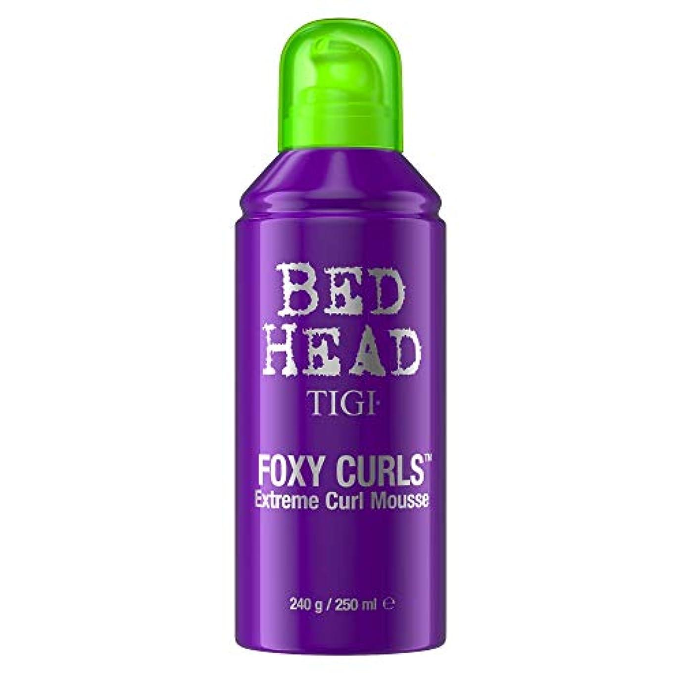 マイルストーンひまわり刺激するTigi Bed Head Foxy Curls Extreme Curls Mousse