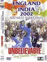 England Vs India: 2002 Natwest Final [DVD]