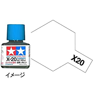 タミヤカラー エナメル X-20 溶剤大びん