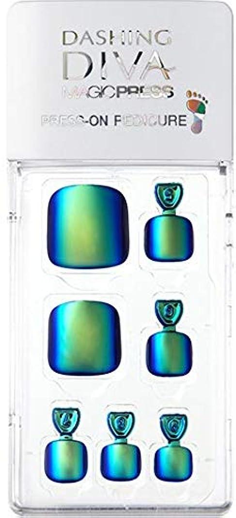 家事をする昆虫ずんぐりしたMDR177P:ペディキュア【ダッシングディバマジックプレス】DASHING DIVA MAGICPRESS PRESS-ON GEL-PEDICURE 1BOX(24TIPS)