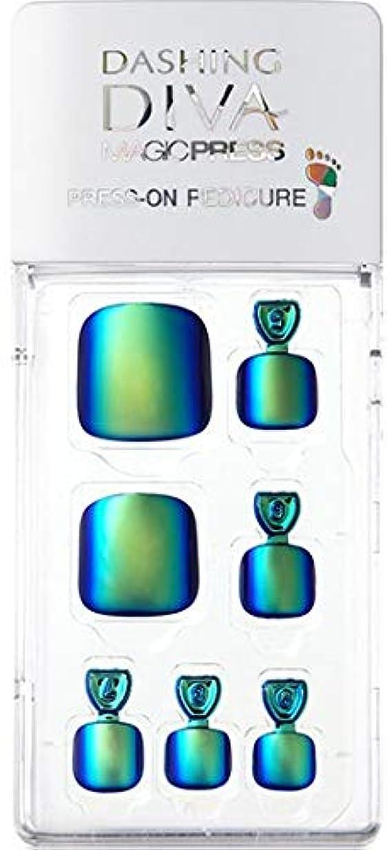 国籍タイムリーな準備したMDR177P:ペディキュア【ダッシングディバマジックプレス】DASHING DIVA MAGICPRESS PRESS-ON GEL-PEDICURE 1BOX(24TIPS)