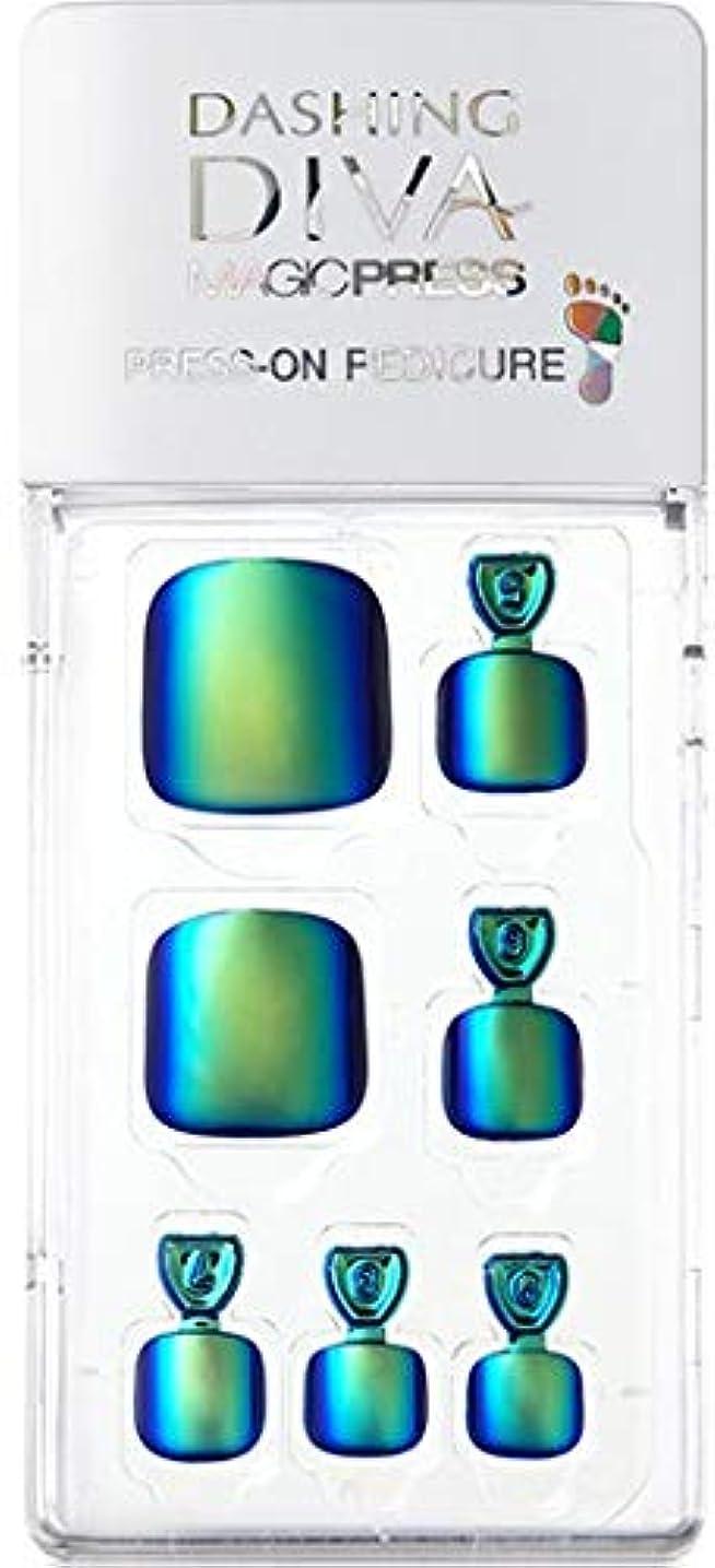 腹部存在運搬MDR177P:ペディキュア【ダッシングディバマジックプレス】DASHING DIVA MAGICPRESS PRESS-ON GEL-PEDICURE 1BOX(24TIPS)