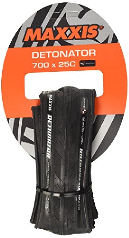 Maxxis Detonator m203ロードバイクトレーニングタイヤ700 x 25 Cブラック28
