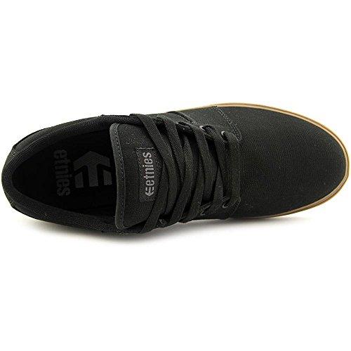 Etnies Barge LS メンズ 米国 7 ブラック スケートシューズ [並行輸入品]