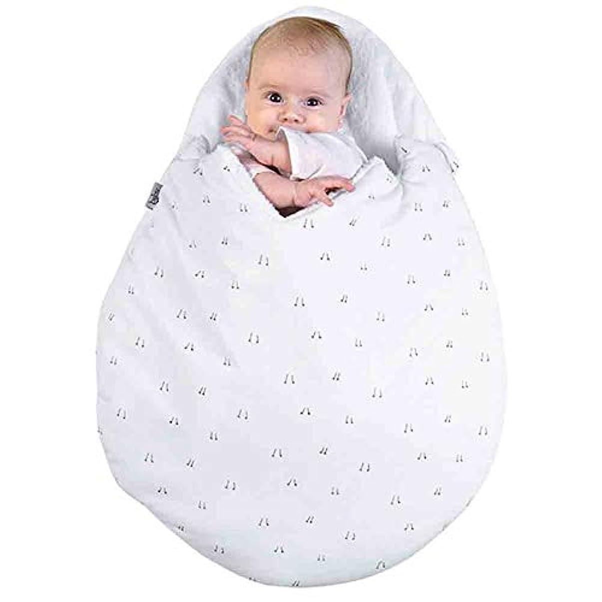 ショッキング醸造所デコレーション生まれたばかりの赤ちゃんの漫画の卵形の寝袋冬のベビーカーベッド毛布毛布寝具寝袋寝袋厚い赤ちゃんの保温 u3h1g4