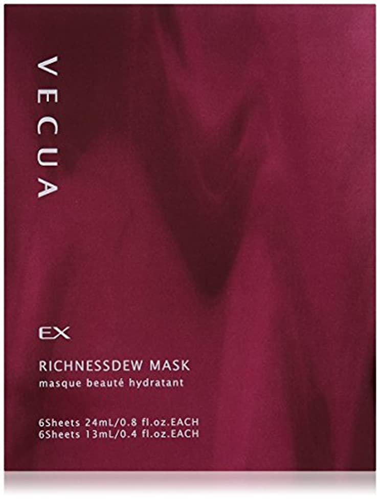困難取り出す発表するベキュア リッチネスデューマスク 24mLX6枚+13mLX6枚(シート状マスク)