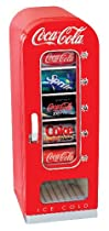 COCA-COLA コカ・コーラ レトロ調 コカコーラ 自動販売機型冷蔵庫 レトロベンディングマシーン CVF18-G 10缶収納型 Vending Fridg【並行輸入品】