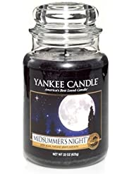 Yankee Candle Midsummer's Night Large Jar Candle, Fresh Scent by Yankee Candle [並行輸入品]