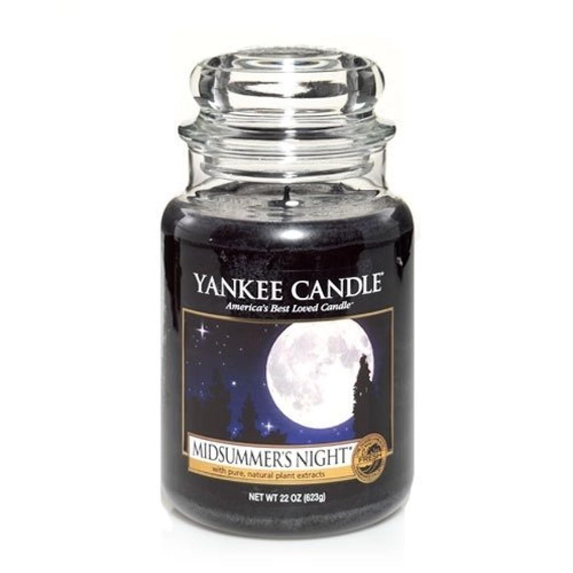 突撃添付貨物Yankee Candle Midsummer's Night Large Jar Candle, Fresh Scent by Yankee Candle [並行輸入品]